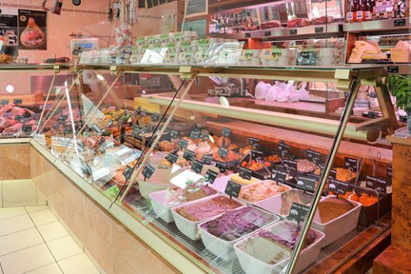 espace de vente boucherie