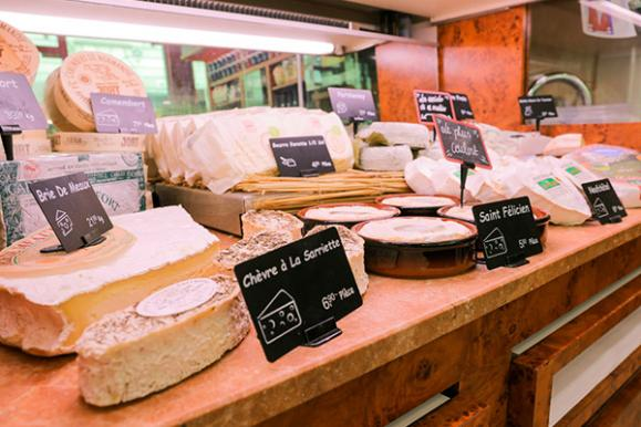 vente de fromage